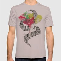 Art'lephant. Mens Fitted Tee Cinder SMALL