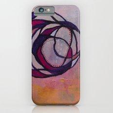 Pink Spiral iPhone 6 Slim Case