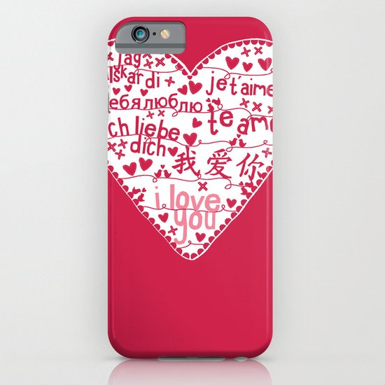 Te Amo iPhone & iPod Case