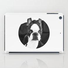 Lulo's evil look. iPad Case