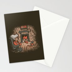 A Hard Winter Stationery Cards