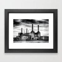 Battersea Power Station London Framed Art Print
