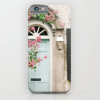iPhone & iPod Case featuring Charleston doorway by Leslee Mitchell