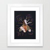 Decline of bees (Déclin des abeilles) Framed Art Print