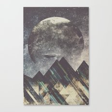 Sweet dreams mountain Canvas Print
