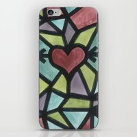 Stained Love iPhone & iPod Skin