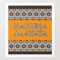 SAWASAWA 3 Art Print