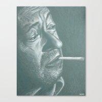 Serge&gitane! Canvas Print