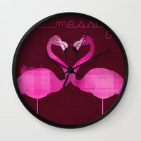 Love Is The Message Wall Clock