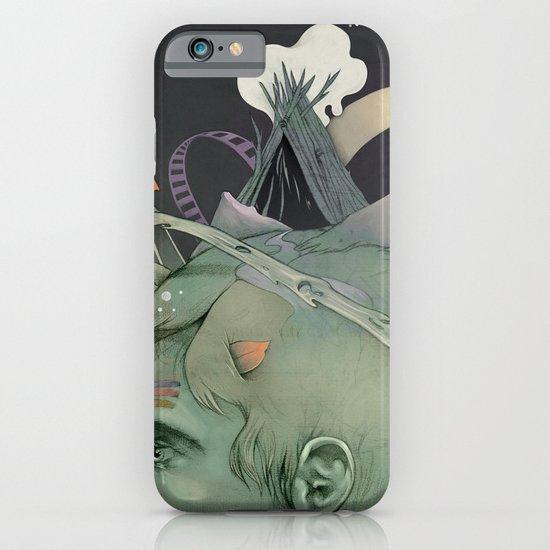 The traveler dreams iPhone & iPod Case