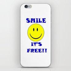 Smile It's free iPhone & iPod Skin