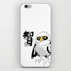 The Wise Owl iPhone & iPod Skin