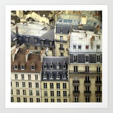 Paris Rooftop #2 Art Print
