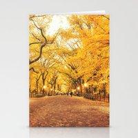 New York City Autumn Stationery Cards