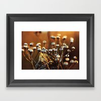 Skagit Winter Life Framed Art Print