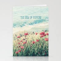Sea of Poppies Stationery Cards