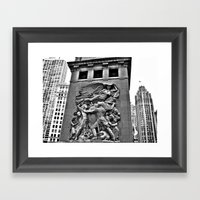 The Battle Framed Art Print