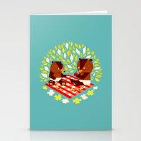 Picknick Bears Stationery Cards