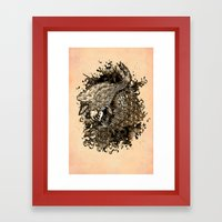 GOLDEN PISCES Framed Art Print