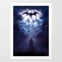 A Storm Approaches Art Print