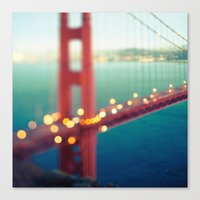 Meet Me In San Francisco Canvas Print