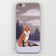 Lone Fox iPhone & iPod Skin