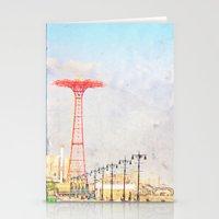 Brooklyn's Eiffel Tower Stationery Cards