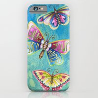 iPhone & iPod Case featuring Give Your Spirit Wings  by Jennifer Lambein