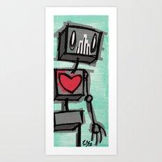 h3@rT Art Print