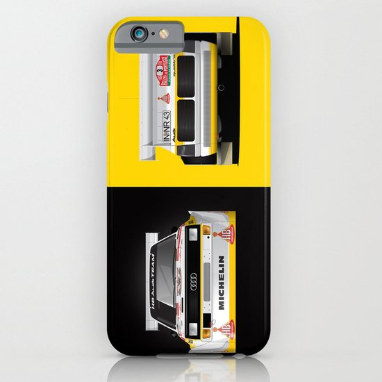 Group B Edition, N.º3, Audi Quattro S1 iPhone & iPod Case