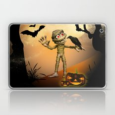 Halloween, Funny mummy  Laptop & iPad Skin