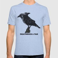 A Crow Mens Fitted Tee Athletic Blue SMALL