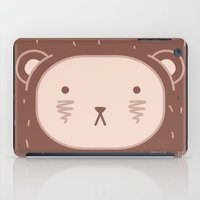 WILD + BEAR print iPad Case