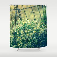 Bloom With Wild Abandon Shower Curtain