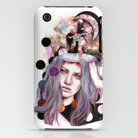 iPhone 3Gs & iPhone 3G Cases featuring And Bring the Crazy by Veronika Weroni Vajdová