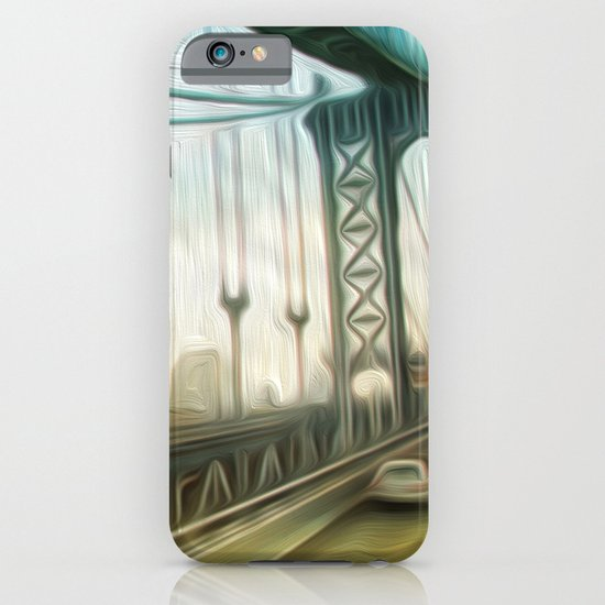 manhattan bridge morning iPhone & iPod Case