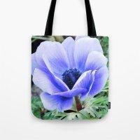 Purple Poppy Anemone I Tote Bag
