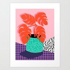 Mung - Throwback Retro 8… Art Print