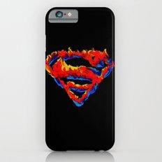 Superman in Flames iPhone 6s Slim Case