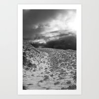 Snow Scene 2 Art Print