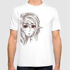 Elven Mens Fitted Tee SMALL White