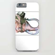 Elephant Shower In Red iPhone 6 Slim Case
