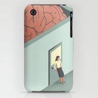 Brain Room iPhone (3g, 3gs) Slim Case