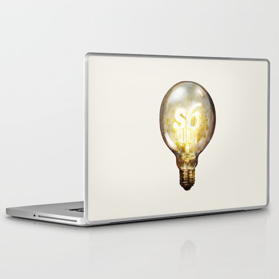 Light Laptop & iPad Skin