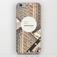 Royal Quote Scramble iPhone & iPod Skin