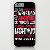 Muhammad Ali: Aligator iPhone 6 Slim Case