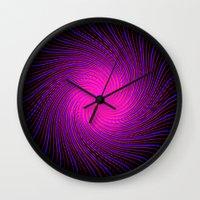 Pink Spirit Circle 2 Wall Clock