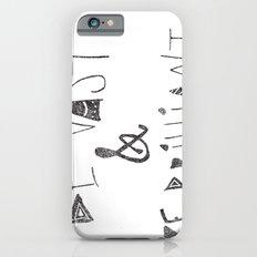 Be Vast and Brilliant Slim Case iPhone 6s