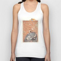 The year of OX  Unisex Tank Top