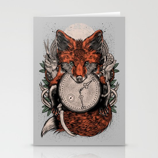 Chaos Fox Stationery Card